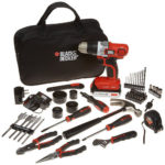 BLACK & DECKER LDX120PK Drill and Project Kit